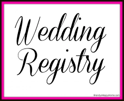 wedding regisrty the doll wedding registry