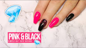 watch me work tutorial how to acrylic gel nail design pink