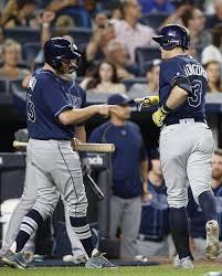 austin judge homer in 1st big league at bats as yanks win