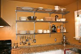 kitchen marvelous metal kitchen shelves fabulous racks for best