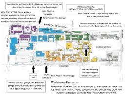 the gateway festival orchestra of st louis new improved parking map