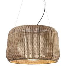 Large Outdoor Chandeliers Buy The Fora Indoor Outdoor Pendant Large By Bover