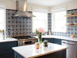 painted tiles for kitchen backsplash tile trends to now coastal living