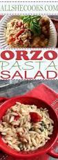 orzo pasta salad party food recipes