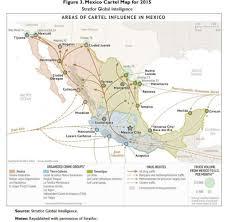 Texas Mexico Border Map by New Map Shows Major Smuggling Routes Into Texas Used By Drug