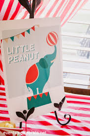 Peanuts Shower Curtain Circus Baby Shower Archives Events To Celebrate