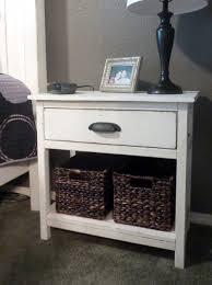 Diy Murphy Desk Nightstand Appealing Farmhouse Nightstand Ana White Bedside