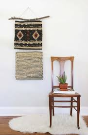 Hanging Rugs On A Wall The 10 Easiest Diy Wall Hangings Hither U0026 Thither