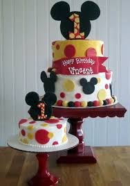 mickey mouse 1st birthday boy darlin designs mickey mouse birthday cake and smash cake