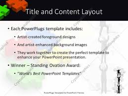 powerpoint template various puzzle pieces with a team of people