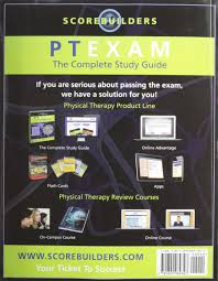 buy ptexam the complete study guide book online at low prices in