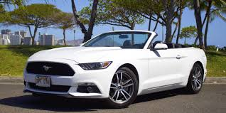 car hire mustang hire a car ford mustang 2015 in honolulu for 65 per day