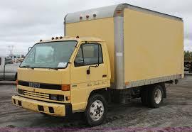 1990 isuzu npr box truck item h4176 sold laster constru