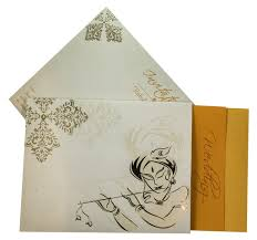 Playing Card Wedding Invitations Invite With Image Of Krishna Playing Flute