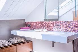 mosaik im badezimmer duschbad mit mosaik modern badezimmer frankfurt am