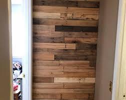 repurposed wood wall reclaimed wood etsy