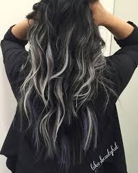 silver brown hair photos silver highlights on brown hair women black hairstyle pics