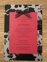 wedding invitations red and silver love inspire create diy wedding shower invites