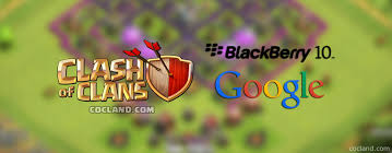 image for clash of clans connect blackberry 10 with google id clash of clans land
