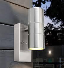 Dusk Till Dawn Light Dusk Till Dawn Sensor Outdoor Up Down Wall Light Stainless Steel