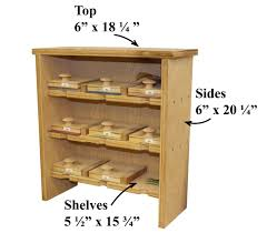 Dvd Cabinet Woodworking Plans by Sandpaper Storage Cabinet Startwoodworking Com
