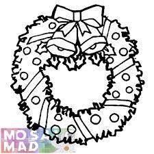 printable wreath patterns patterns kid