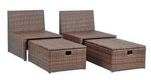 Patio Chairs With Ottomans by Pat2013a Outdoor Outdoor Home Furnishings Sun Loungers