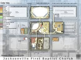 first baptist church jacksonville master plan cdh partners cdh