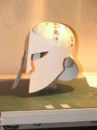 spartan greek or trojan type helmet 7 steps