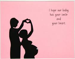 8 dear daddy mommy cards pregnancy months 3 9 and