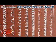 Warli Art Simple Designs With The Use Of Technology U0026 The Concept Of Social