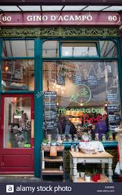 gino d u0027 acampo pasta bar at leadenhall market in london uk stock