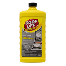 how to remove grease from the top of kitchen cabinets goof 32 oz concrete cleaner and stain remover fg820