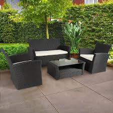 Best Wicker Patio Furniture - amazon com best choice products 4pc outdoor patio garden