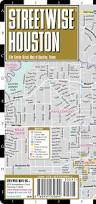 Metro Houston Map by Streetwise Houston Map Laminated City Center Street Map Of
