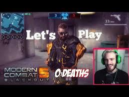 Challenge Fatality Pewdiepie Plays Modern Combat 5 The 0 Challenge 1