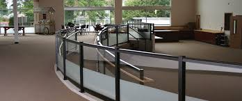 Glass Handrails For Stairs Glass Railing Crystalite Inc