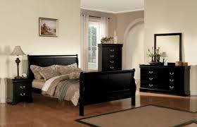 Cess Bedroom Set Acme Louis Phillipe Iii Sleigh Bedroom Set In Black
