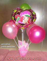 balloon centerpiece balloon centerpiece strawberry shortcake cebu balloons and