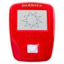 amazon com etch a sketch junior joystick toy toys u0026 games