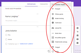 langkah membuat google form cara membuat kuesioner online dengan google formulir infomedia digital