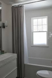 Curtain Ideas For Bathroom Windows Extra Long Shower Curtain Curtains Modern Bathroom Window Prime