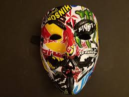 Guy Fawkes Mask Halloween by Kcrazycustoms Kcrazycustoms Twitter