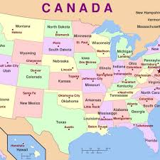 canadian map capitals us map fill in states and capitals file census regions and