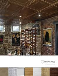 armstrong retail ceiling guide with product comparison usg and