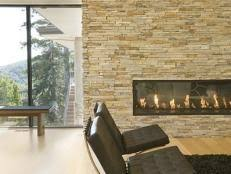 Mounting Tv Over Brick Fireplace by Installing A Tv Above The Fireplace Hgtv