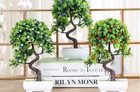 20167creative simulation artificial flower potted plant bonsai