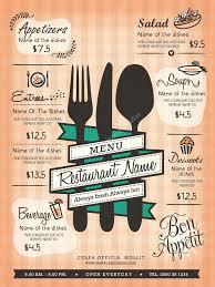 restaurant menu design template layout u2014 stock vector kraphix