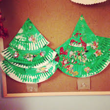 paper plate christmas crafts clare u0027s little tots