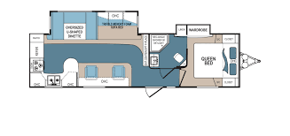 2 Bedroom Travel Trailer Floor Plans Denali Rv Floorplans And Pictures